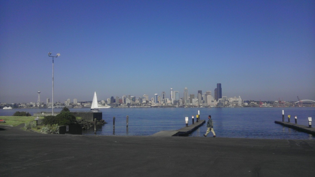 Photo of Seattle from Don Armeni Boatramp